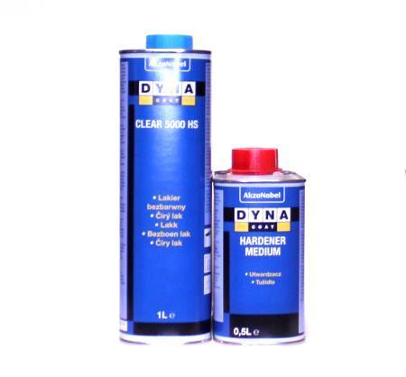 Лак Dyna Coat Clear 5000 HS(комплект)