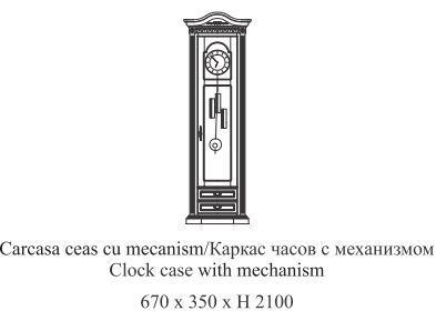 Часовий каркас з хутро. Venetia Simex