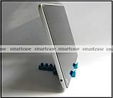 Синяя настольная пластиковая подставка трансформер для фиксации планшета, смартфона (просмотр видео), фото 5