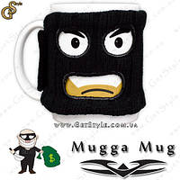 "Чашка-бандит - ""Mugga Mug"" с балаклавой, фото 1"