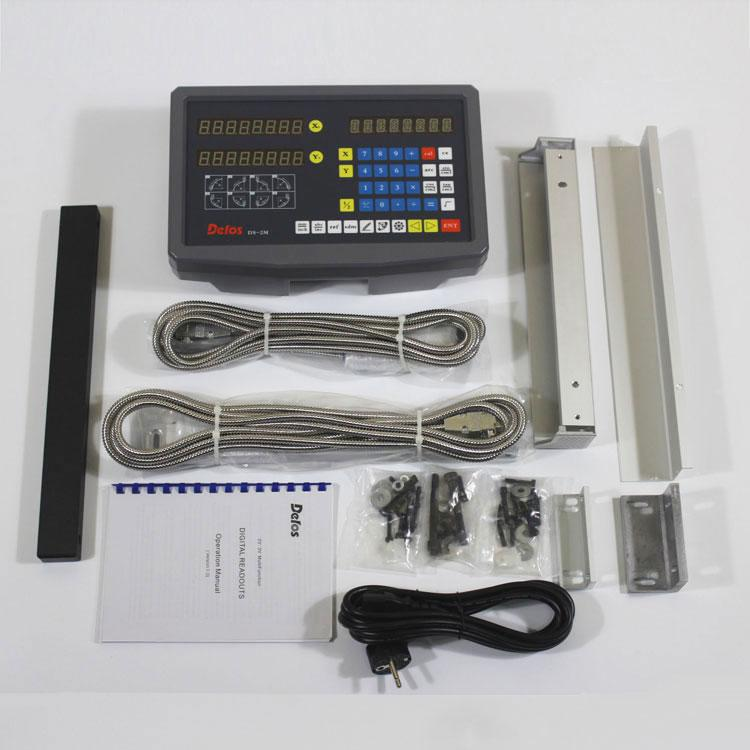 Комплект УЦИ DELOS для токарного станка на 2 оси РМЦ 1000 мм