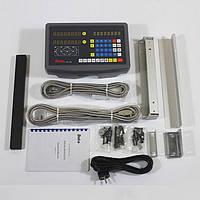 Комплект УЦИ DELOS для токарного станка на 2 оси РМЦ 1000 мм, фото 1