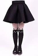 Практичная и нарядная школьная юбка- солнце Размеры 122-152