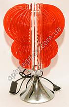 Лампа светильник торшер. Настольная лампа. Ночник красный Торшер No 9