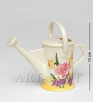 Фарфоровая декоративная вазочка Лейка