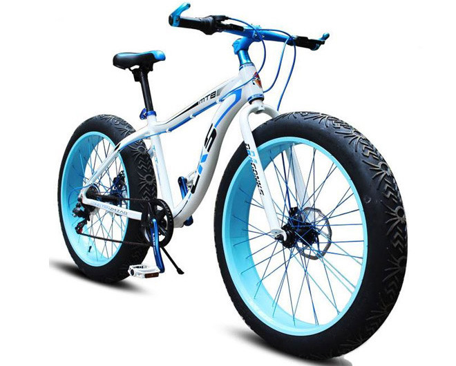 Электровелосипед LKS fatbike Белый 350 (20181116V-32) - Bambarbia в Одесі