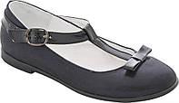 Туфли Lapsi / Лапси 18-1485 т.синий для девочки