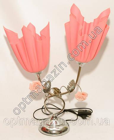 Настольная лампа цветы. Светильник торшер. Ночник Торшер No11, фото 2