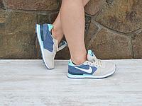 Кроссовки Nike синий
