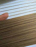 Рулонные шторы День-Ночь Вьюти натурал B-618 ореховый, фото 2