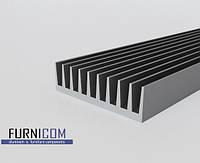 Радиаторный профиль алюминиевый 92х26х100 / б.п.