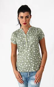"""Блуза з принтом """"зірки"""". Туреччина. розм.48-50"""