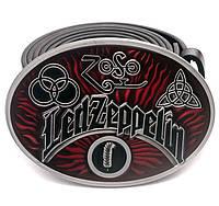 "Пряжка Led Zeppelin ""ZOSO"", Комплект поставки товара Пряжка (без ремня)"