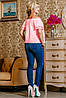 Хлопковая блуза с вышивкой и открытыми плечами (2225-2222-2228-2226-2227 svt), фото 6