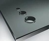 Кухонный фартук из графитового стекла