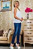 Летняя женская блуза из принтованного батиста (2229- 2230 svt), фото 4
