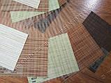 Рулонні штори День-Ніч Індиго B-155 шоколад, фото 2
