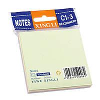 Бумага для заметок самоклейкая цветная 76*76мм 100 л.