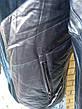 """Куртка мужская демисезонная стильная """"под кожу"""", есть большие размеры VIVO, Турция, фото 4"""