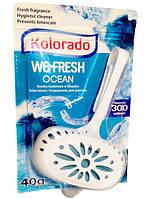 Подвесной блок для унитаза + мыло Kolorado Океан