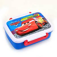 Контейнер для еды Cars, 420 мл, с разделителем (5056137111732)
