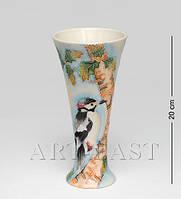 Фарфоровая ваза Звуки леса