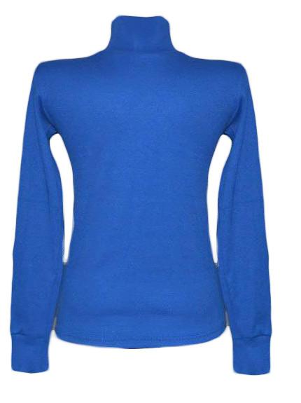 Водолазка с начесом подростковая для девочки 01033 Blue, р.р.38,40