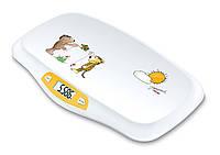 Детские электронные весы с функцией определения точного веса шевелящегося младенца  Вeurer  JBY 80