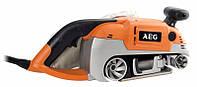 Машинка шлифовальная ленточная AEG HBS 1000 E