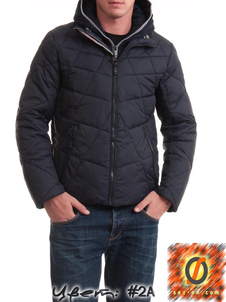 Молодежная зимняя куртка Malidinu 14908 Тинсулейт Индиго