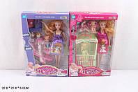 Кукла Барби Беременная 5102  2 вида, с ребенком,одеждой,кроват,коляск,в коробке 22*6*32 см.
