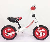 Детский беговел BALANCE TILLY Eclipse T-21254 Red, Беговел на надувных колесах 12 дюймов, Беговел для ребенка