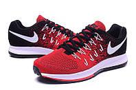Кроссовки Nike Zoom Pegasus 33 Red Black Черные мужские