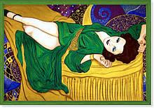 Репродукция картины современной мировой живописи «Изящная» 60 х 85 см