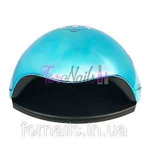 UV/LED лампа хром 48 вт, Blue