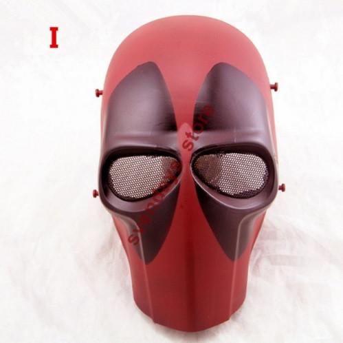 Тактическая маска-шлем для страйкбола, пейнтбола, лыжная маска, спортивная маска
