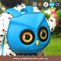 Детский рюкзак SUPERCUTE в виде совы голубой