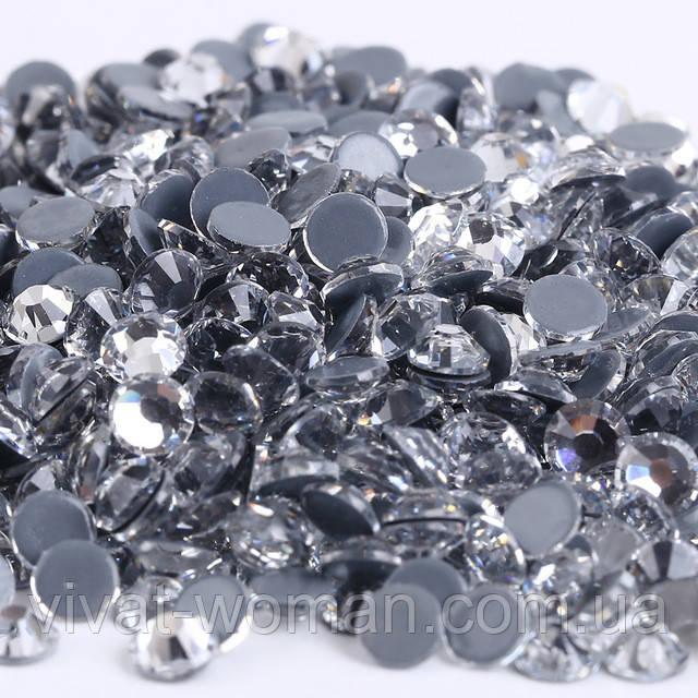 Стрази А+ преміум, Crystal SS6 (1,9-2,1 мм), термоклеєві. Ціна за 144 шт