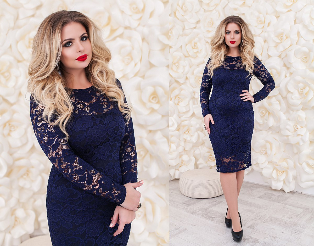 ec5f2452c5b1bf0 Красивое и очень нарядное женское гипюровое платье больших размеров 48-54,  ...