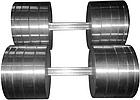 Гантели наборные 2*36 кг (Общий вес 72 кг) металлические домашние разборные для дома, фото 6