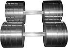 Гантели наборные 2*36 кг (Общий вес 72 кг) металлические домашние разборные для дома, фото 7