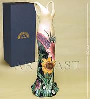 Фарфоровая напольная ваза Платье 60 см JP-95/21