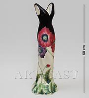Фарфоровая напольная ваза Pavone Платье 60 см JP-156/11