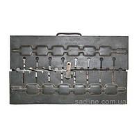 Мангал-чемодан на 6 шампуров (2 мм)