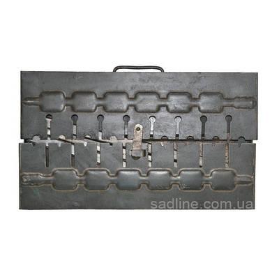 Мангал-чемодан на 8 шампуров (1.5 мм)