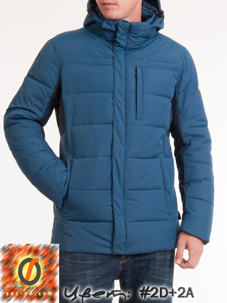 Куртка мужская зимняя Malidinu 14715 Тинсулейт Бирюзовый
