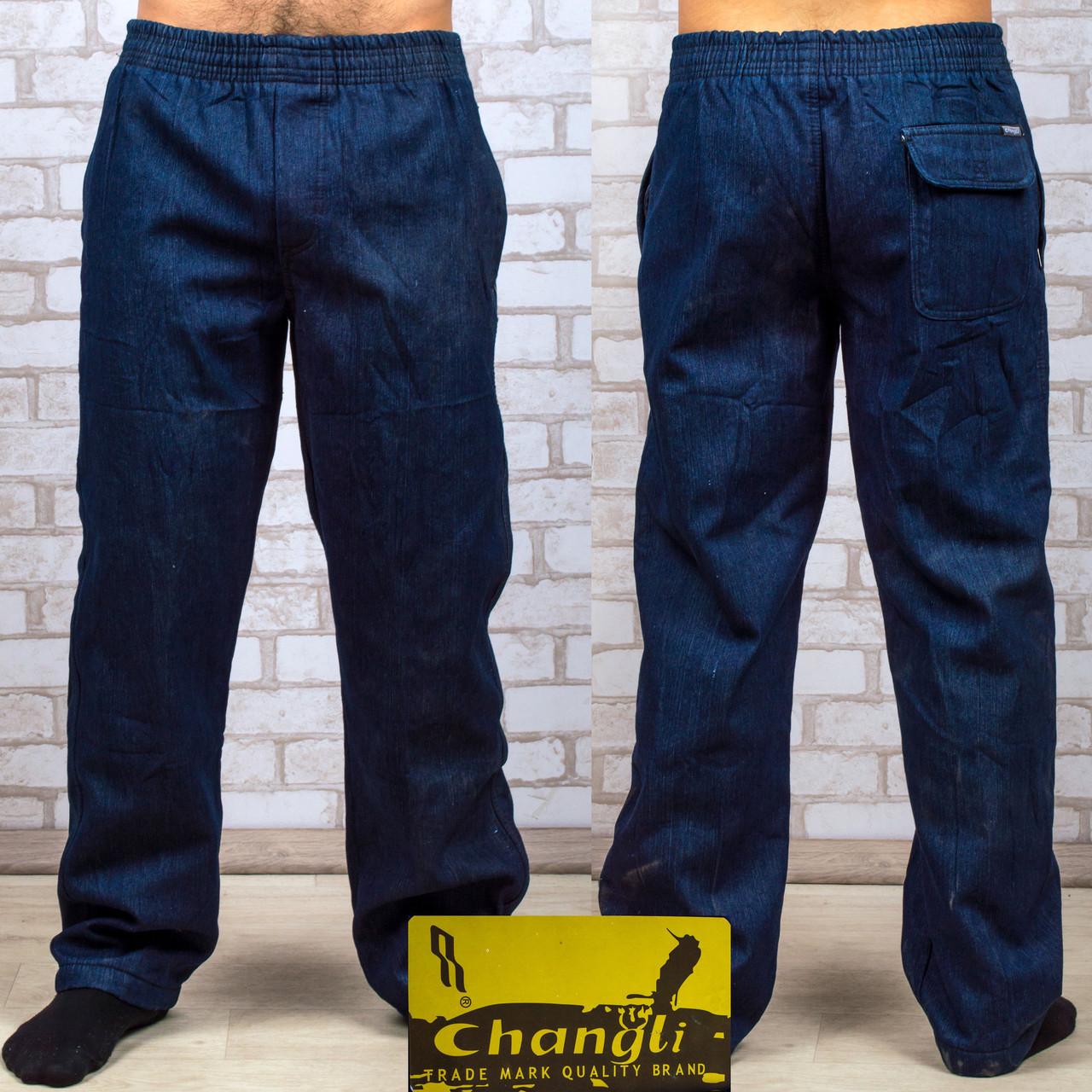 Чоловічі джинсові штани на флисе Andrey D01-2 5XL. сині.  продажа ... 83a5a731df59e