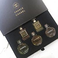 Набор духов Chanel 5в1 (реплика).