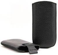 Чехол-карман (футляр) для Nokia 206 черный