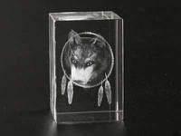 Фигурка голограмма Волк